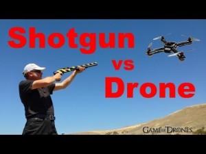shotgun v drone